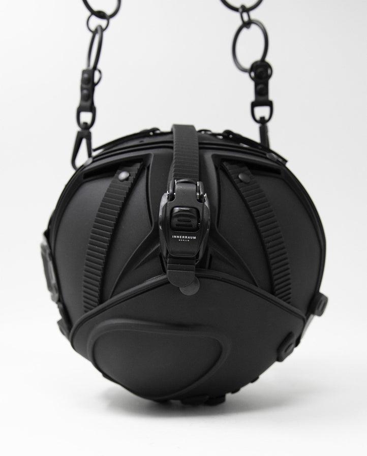 Object I33 Ball Hand Bag - Black UNISEX INNERRAUM