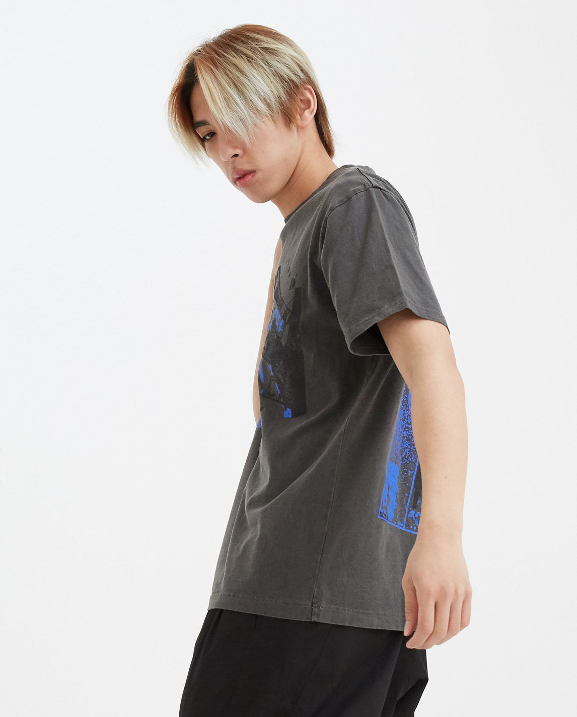 Over-dye Irrational Knowledge T-Shirt - Grey UNISEX CAV EMPT