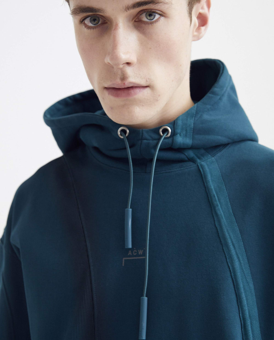 Over Spray Hoodie - Teal MENS A-COLD-WALL*
