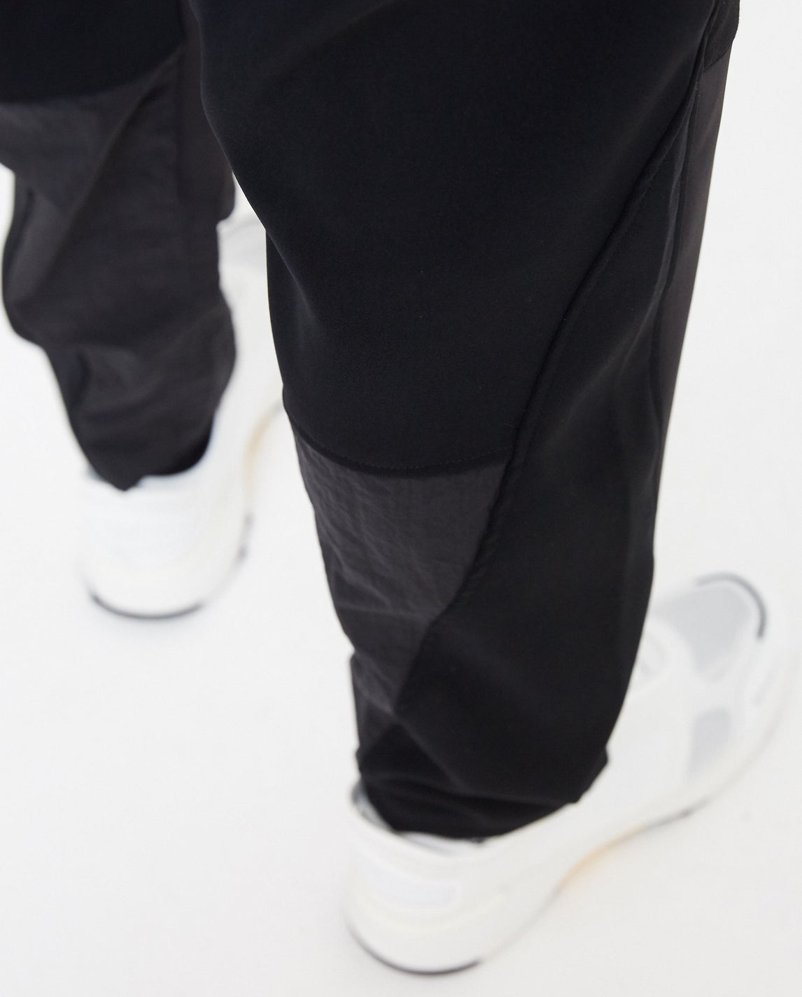 Patchwork Tech Pants - Black MENS WHITE MOUNTAINEERING
