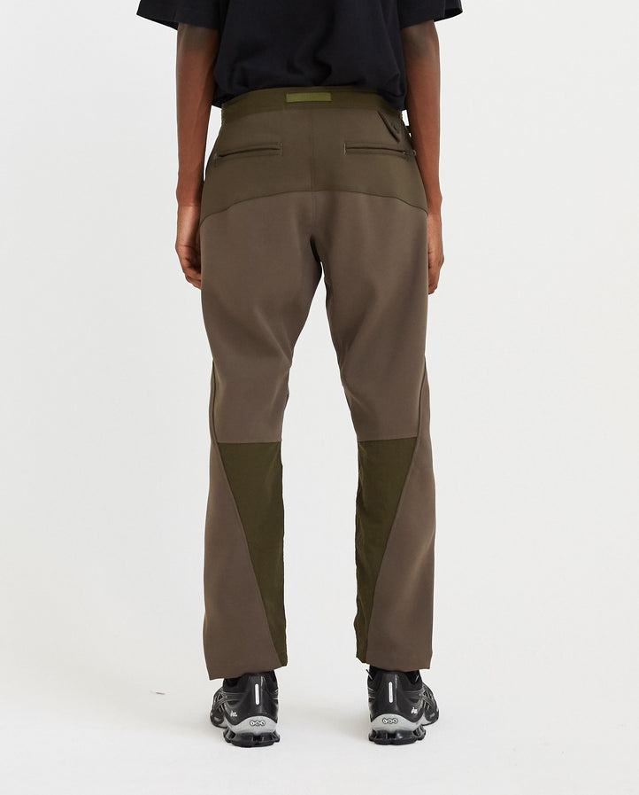 Patchwork Tech Pants - Khaki MENS WHITE MOUNTAINEERING