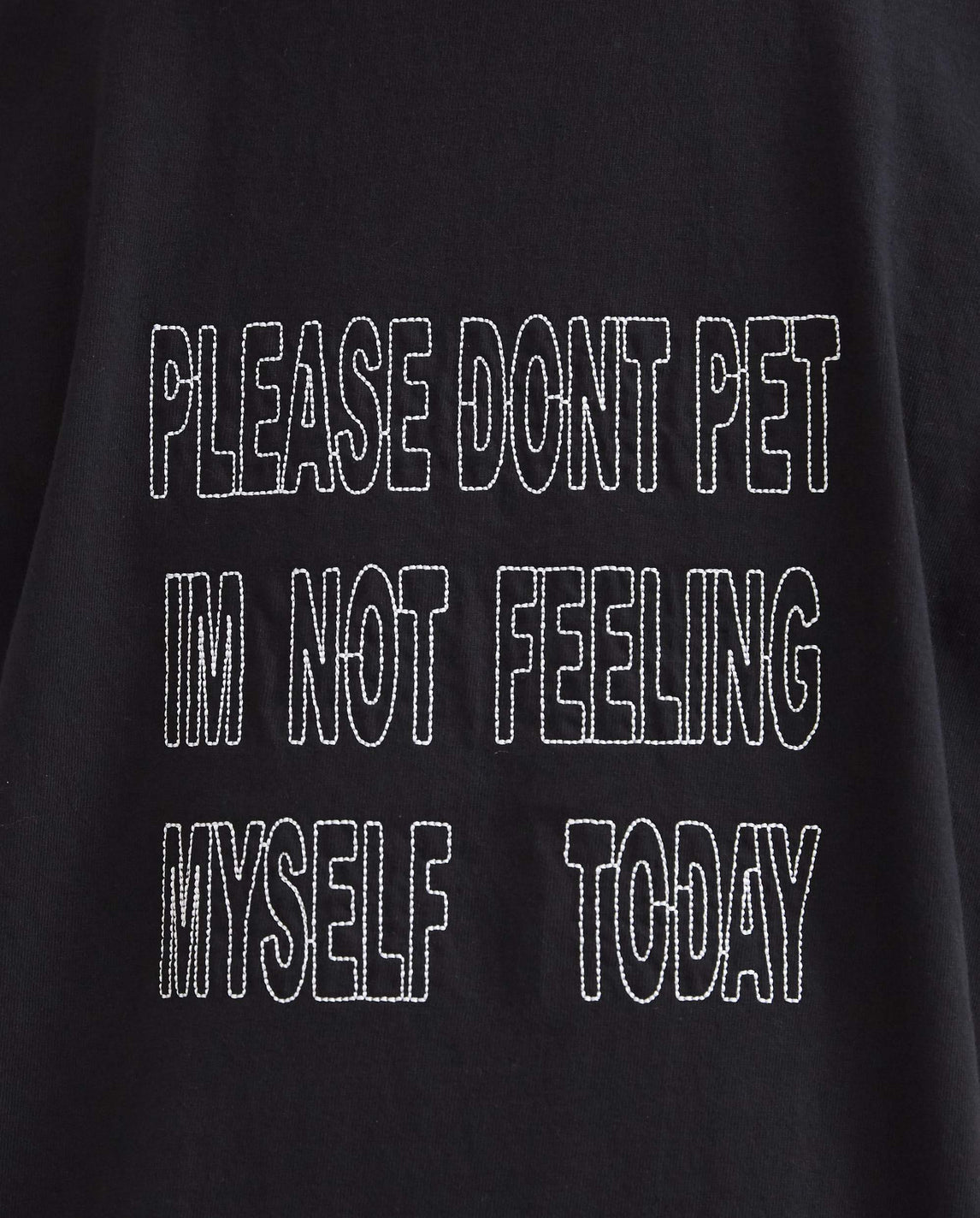 PDP I'm Not Feeling Myself Today - Black UNISEX ASAP NAST X PANGEA
