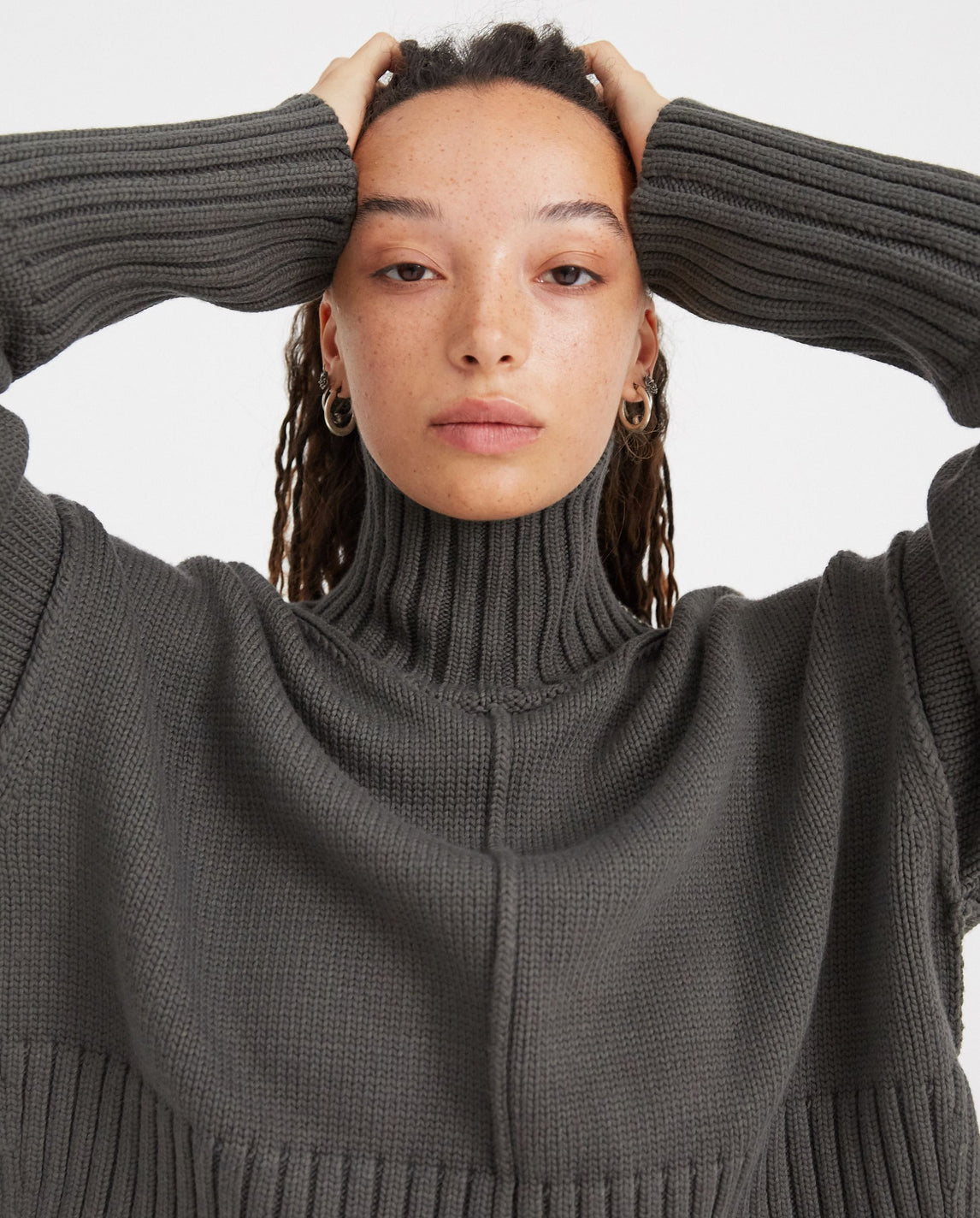 PETER DO - CROPPED OVERSIZED SWEATER - PD-FW20-725 YN007 UNISEX PETER DO