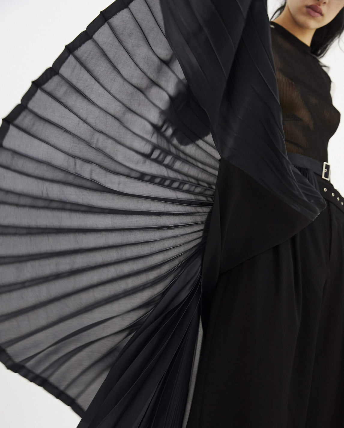 Pleated Skirt - Black WOMENS NOIR KEI NINOMIYA