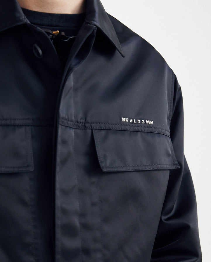 Police Shirt - Black MENS 1017 ALYX 9SM