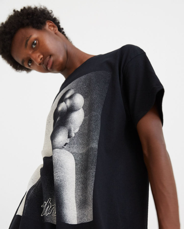 Portrait T-Shirt - Black MENS TAHNKS