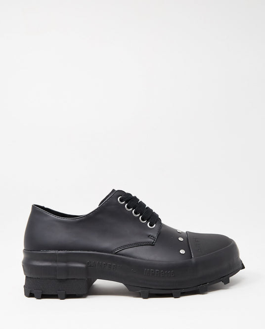 Prax Lace-Up Shoe - Black WOMENS CAMPERLAB