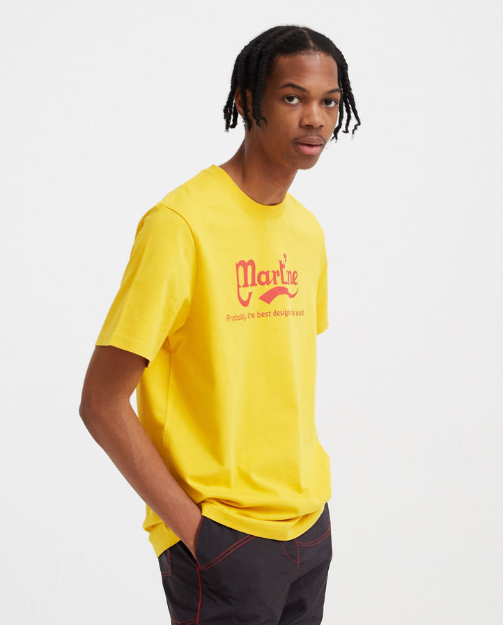 Probably The Best T-Shirt - Yellow MENS MARTINE ROSE