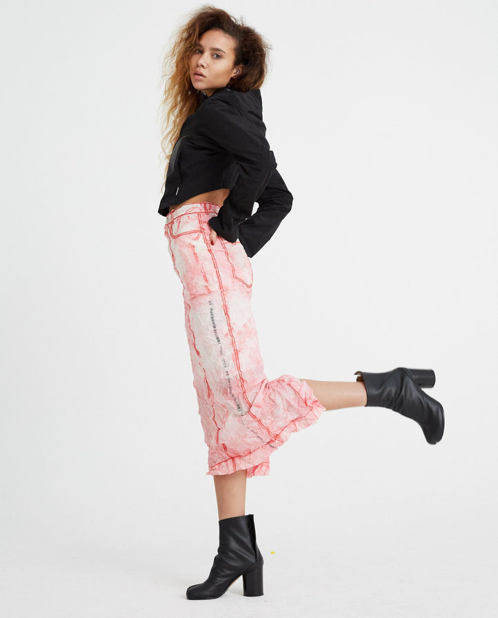 Readymade Airbag Skirt - Pink WOMENS KANGHYUK