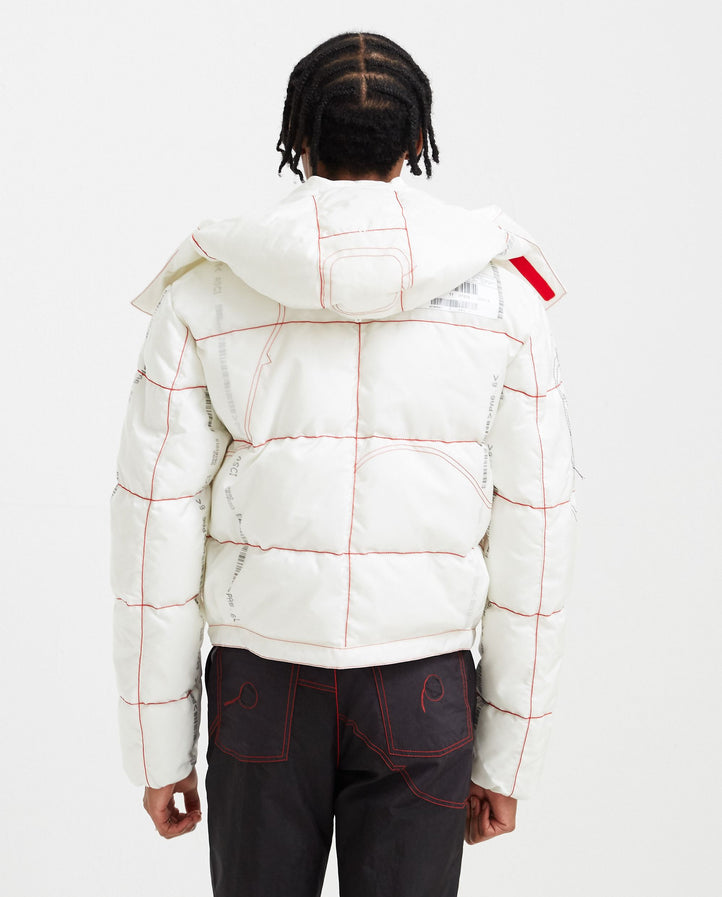 Readymade Airbag Vegan Down Parka - Off White UNISEX KANGHYUK
