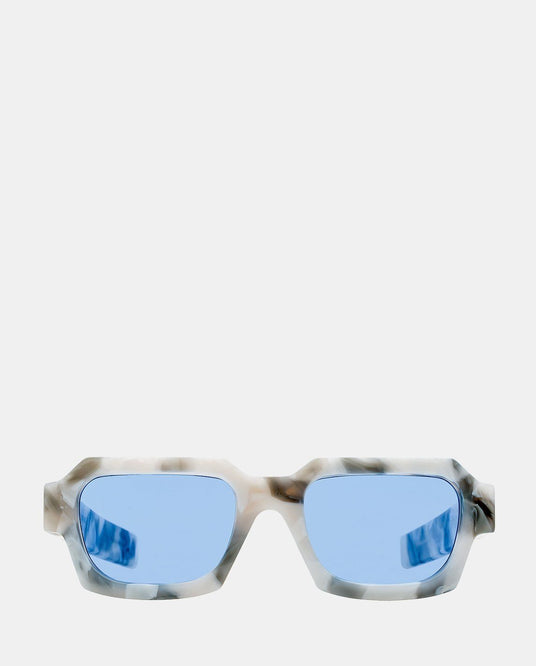 Retrosuperfuture Marble Sunglasses - White / Grey / Blue UNISEX A-COLD-WALL*