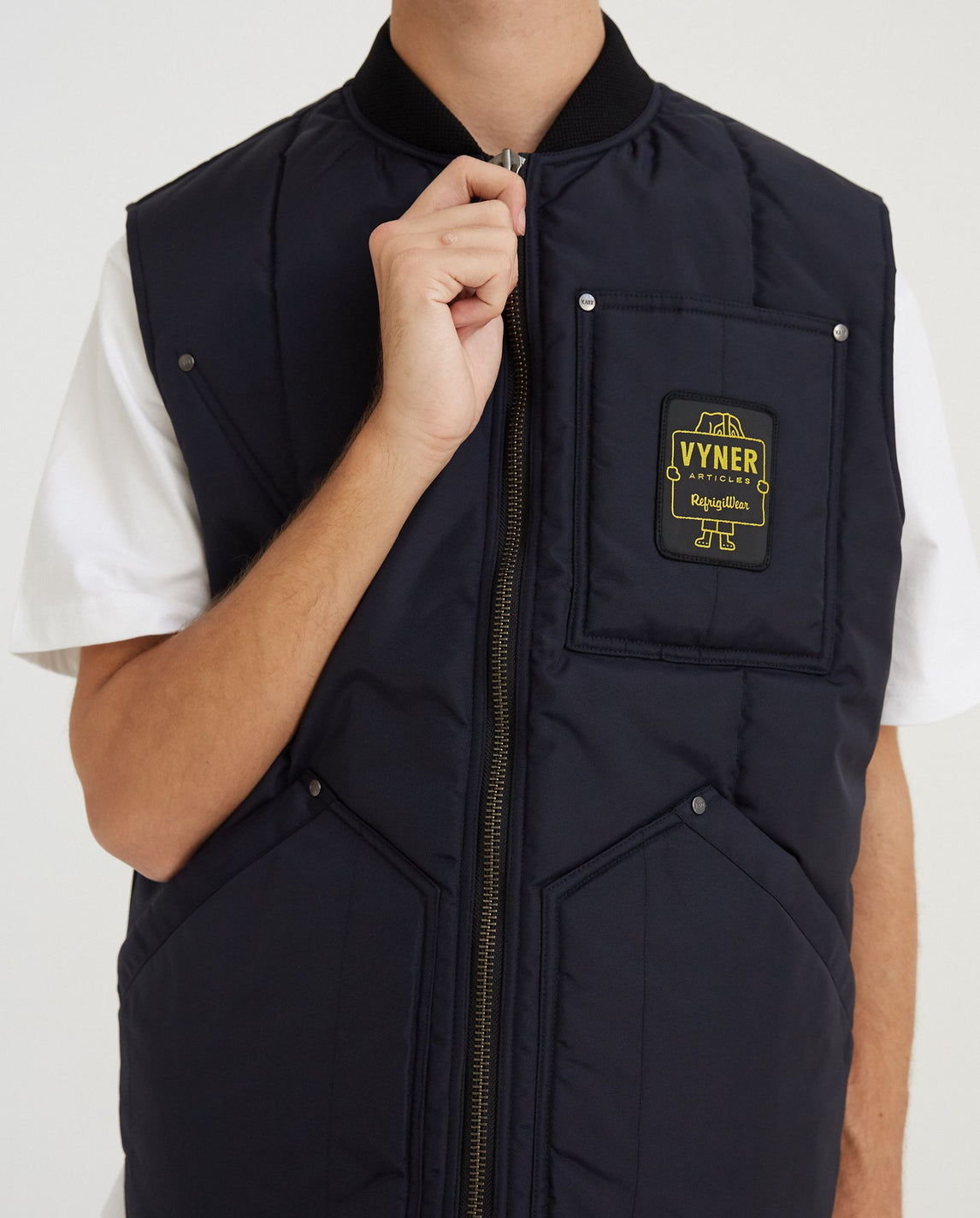 RF Gilet - Navy MENS VYNER ARTICLES