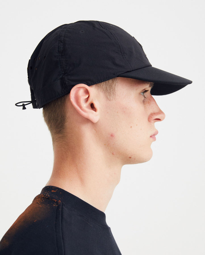 Rhombus Badge Cap - Black UNISEX A-COLD-WALL