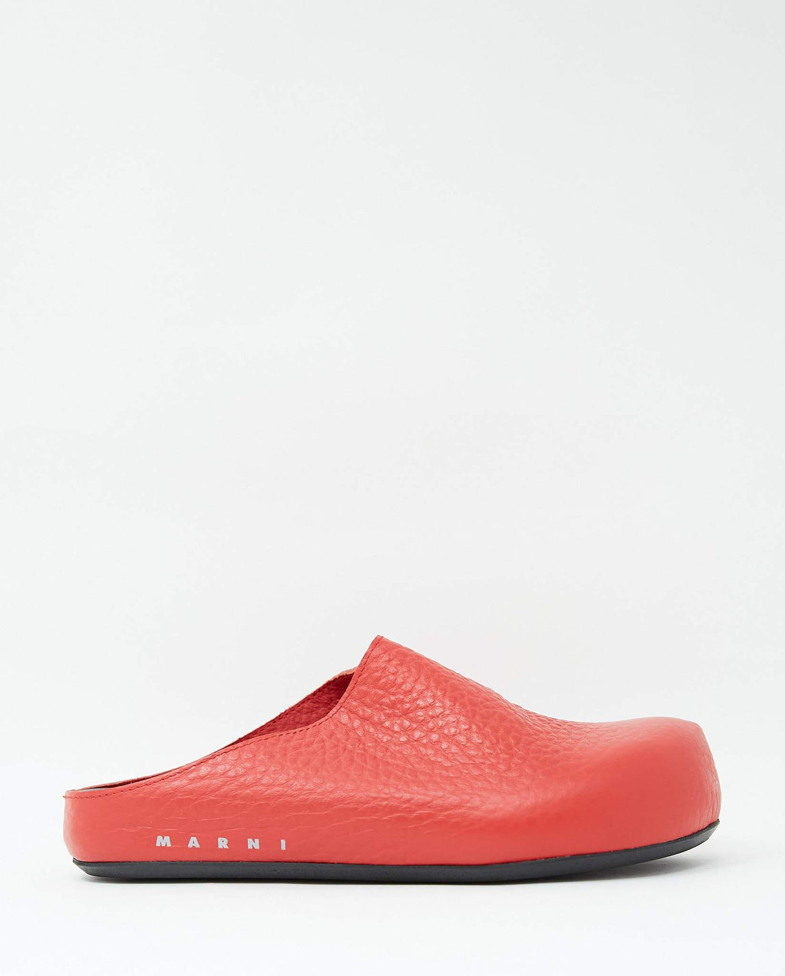 Sabot Loafer - Coral Red WOMENS MARNI