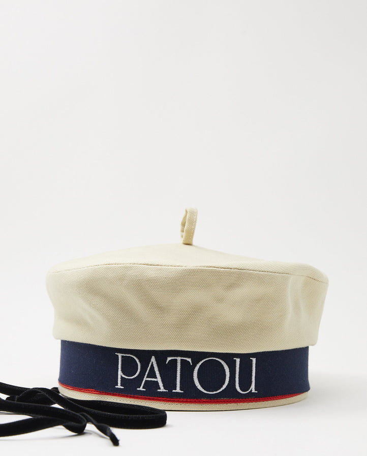 Sailor Hat - Vanilla WOMENS PATOU