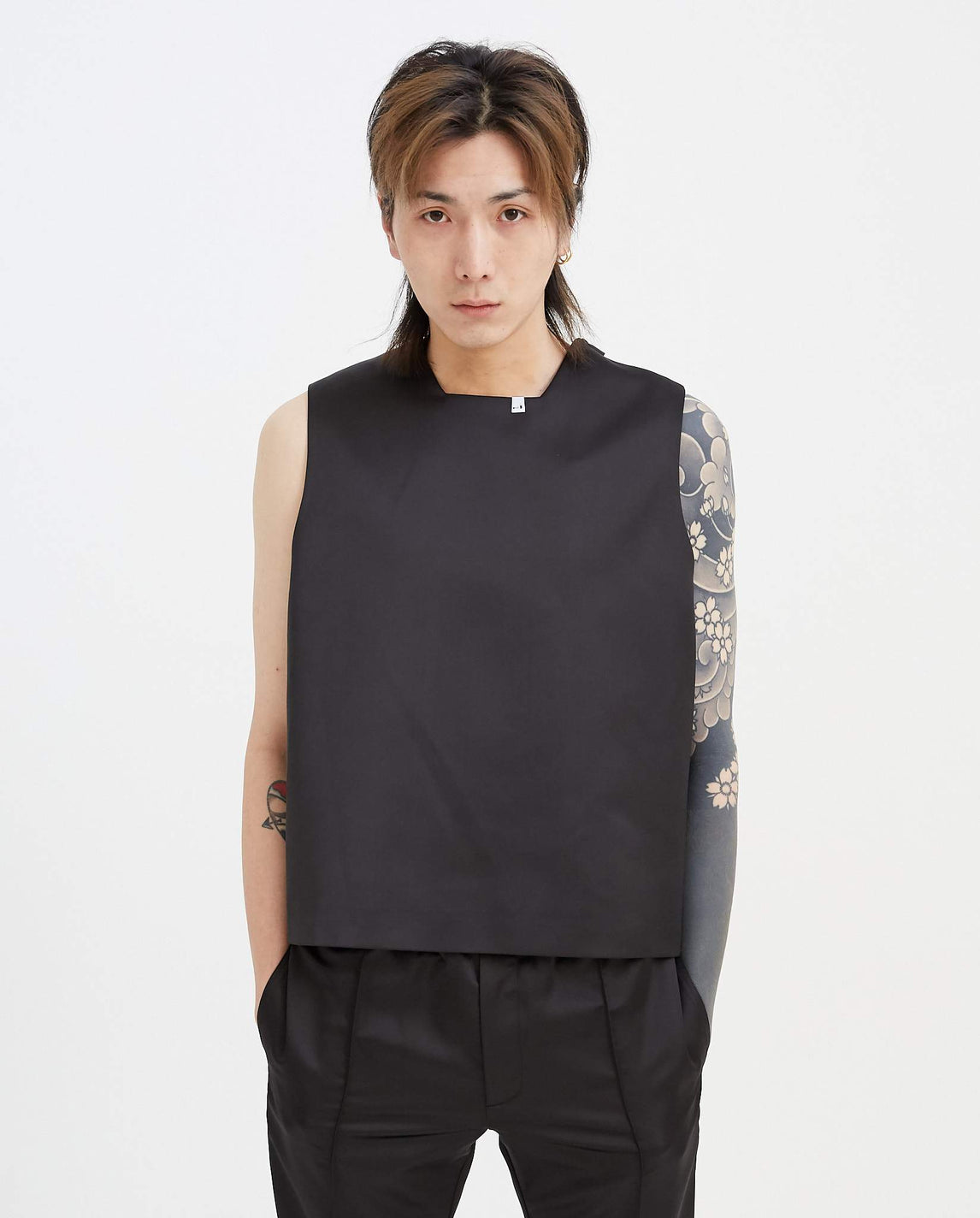 Satin Vest - Black MENS 1017 ALYX 9SM