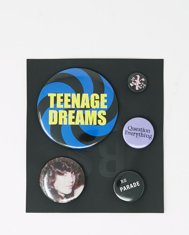 Set Of 5 Badges UNISEX RAF SIMONS