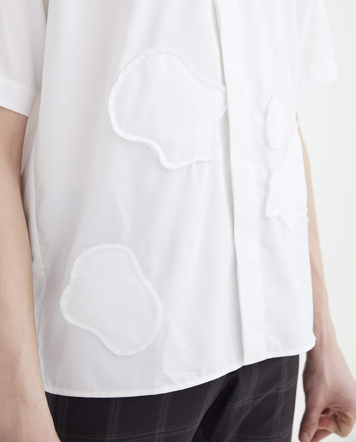 Shirt - White MENS CORNERSTONE