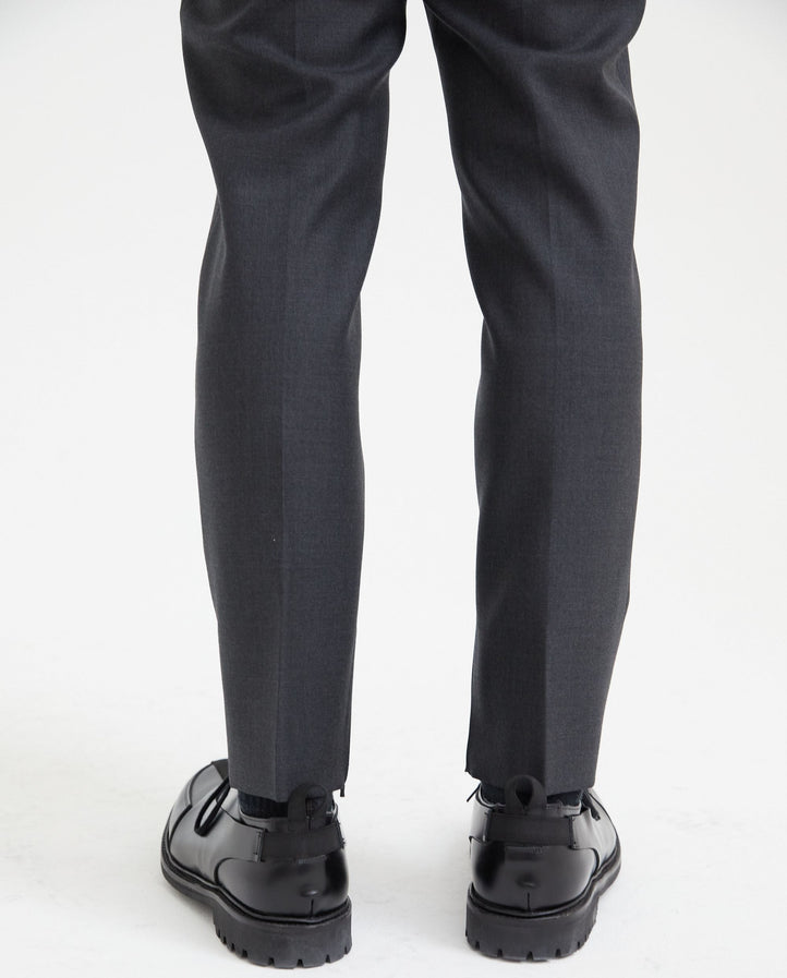 Single Pleat Trouser - Anthracite MENS FEAR OF GOD X ZEGNA