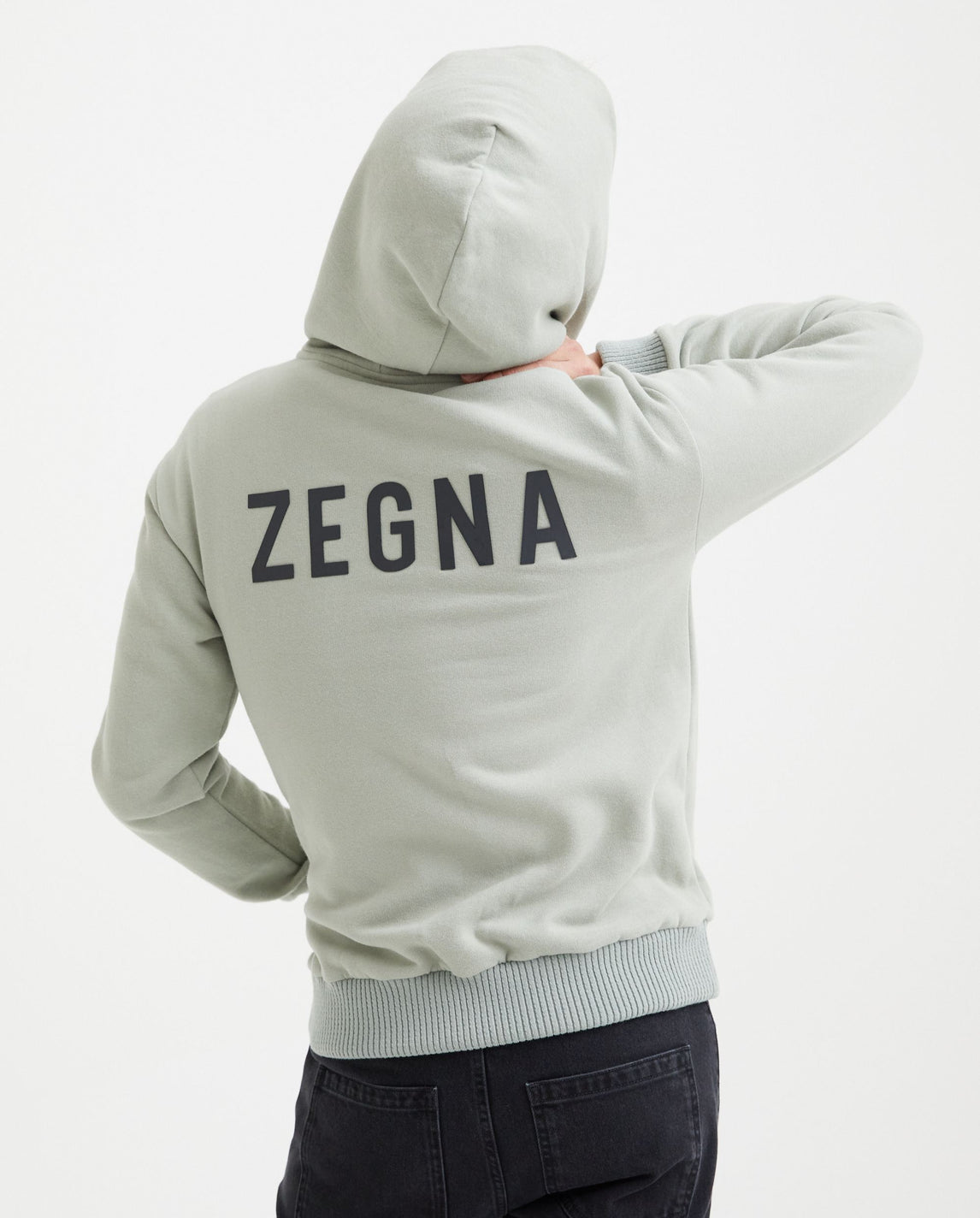 Slim Fit Hoodie - London FOG MENS FEAR OF GOD X ZEGNA