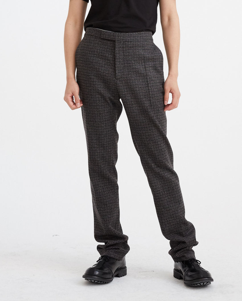 Slim Fit Pants - Black/Brown MENS RAF SIMONS