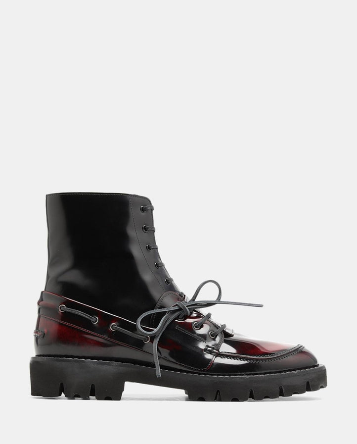 Spliced Ankle Boot - Black MENS MAISON MARGIELA