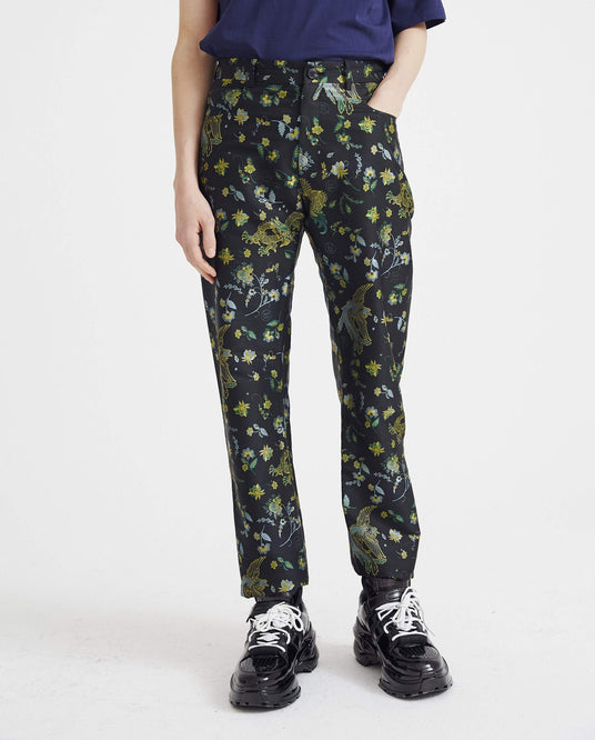 Straight Leg Trouser - Black UNISEX MARTINE ROSE