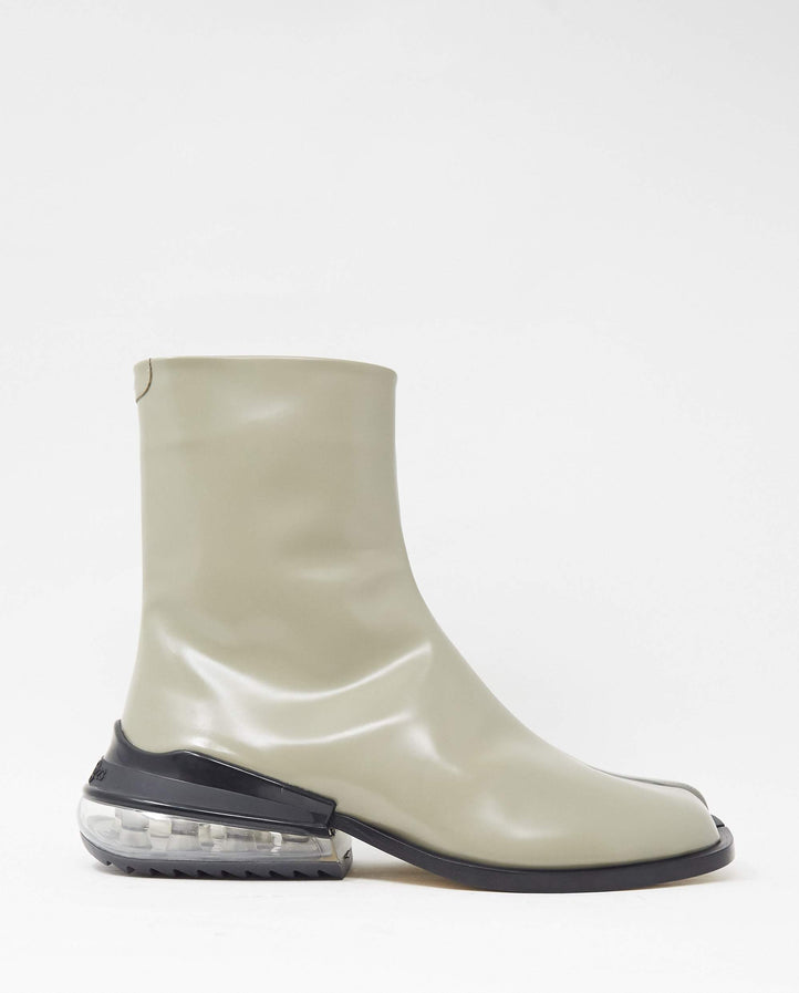 Tabi Airbag Heel Ankle Boot - Taupe MENS MAISON MARGIELA