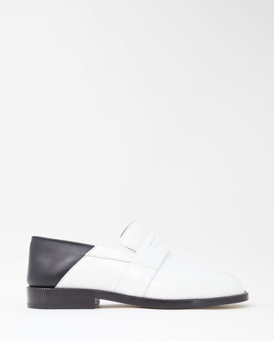 Tabi Loafer - White / Black WOMENS MAISON MARGIELA