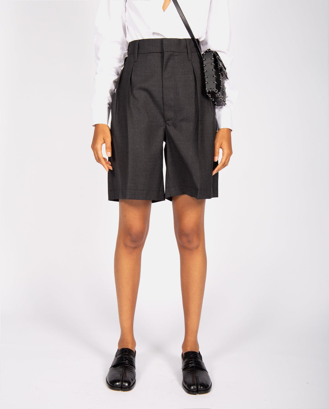 Tailored Shorts - Grey MENS MAISON MARGIELA