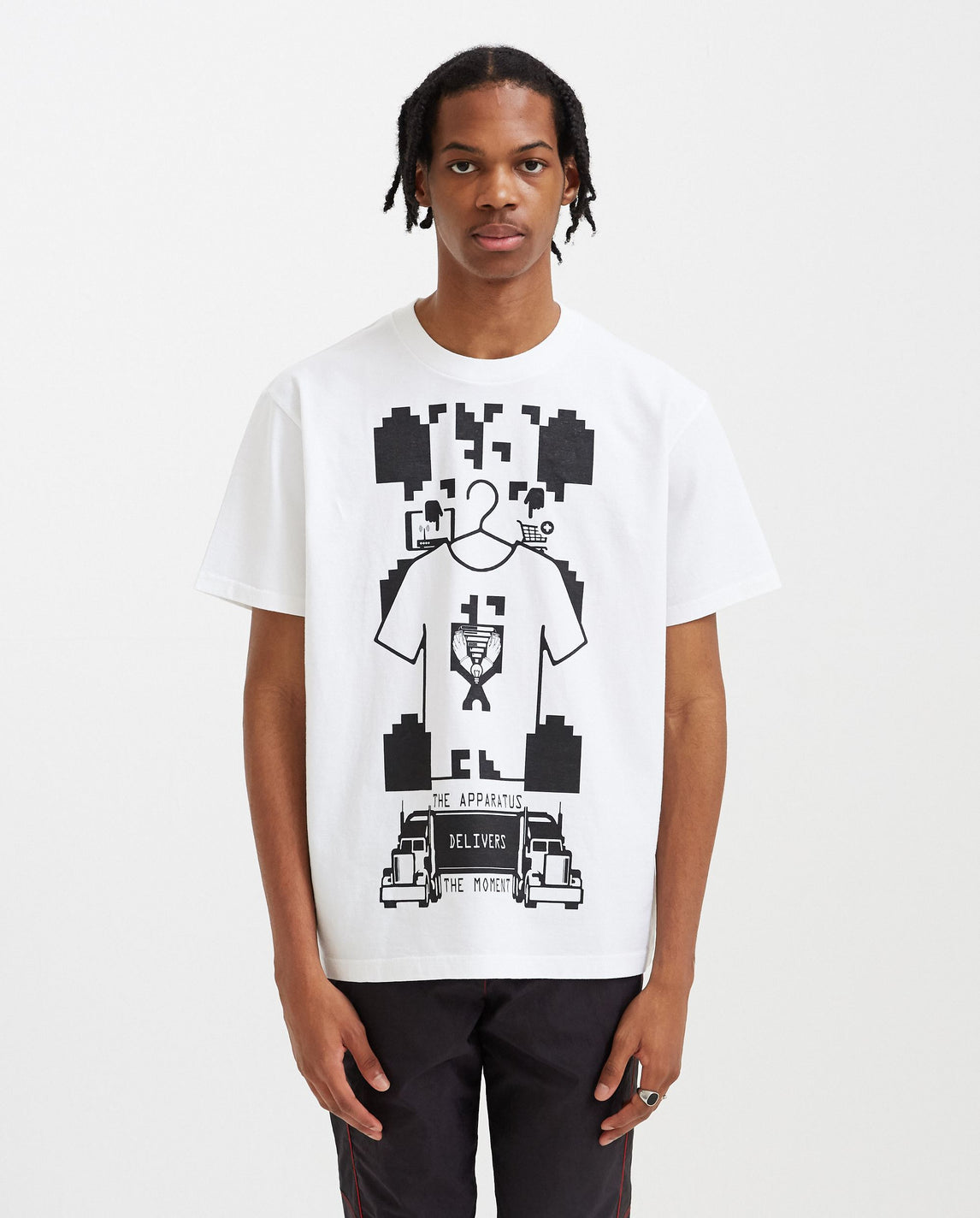 The Apparatus Delivers T-Shirt - White MENS CAV EMPT