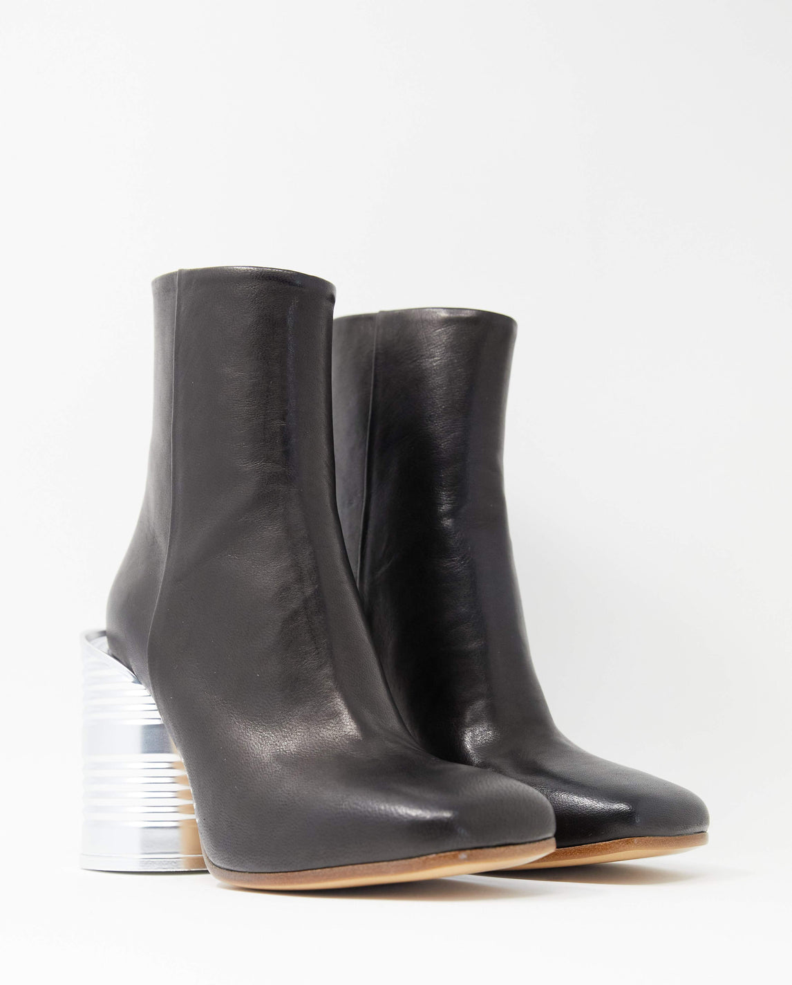 Tin Can Ankle Boot - Black WOMENS MM6 MAISON MARGIELA
