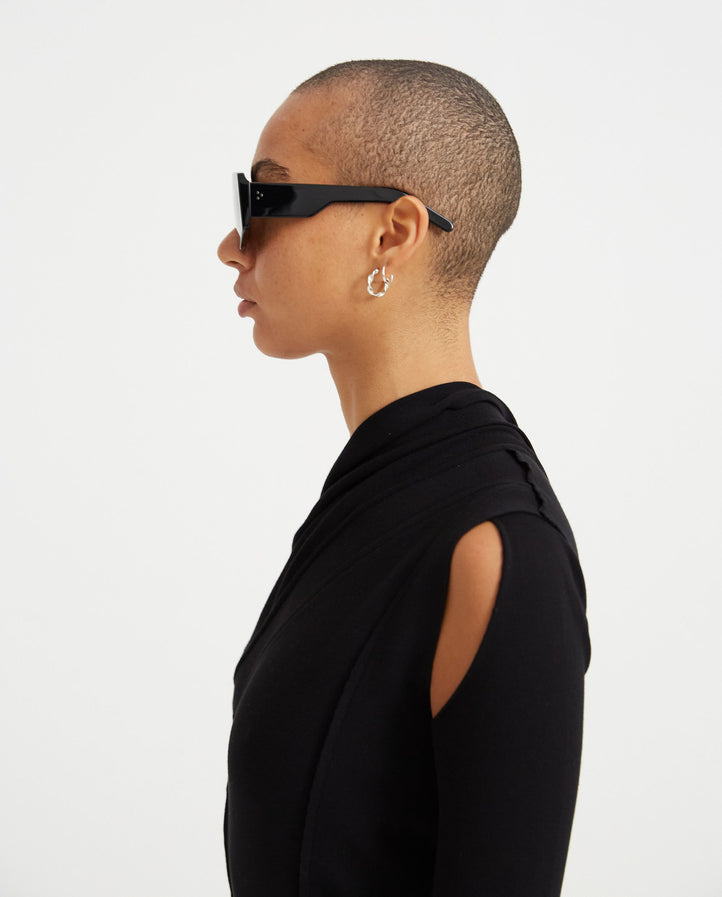 Tinted Sunglasses - Black WOMENS RICK OWENS