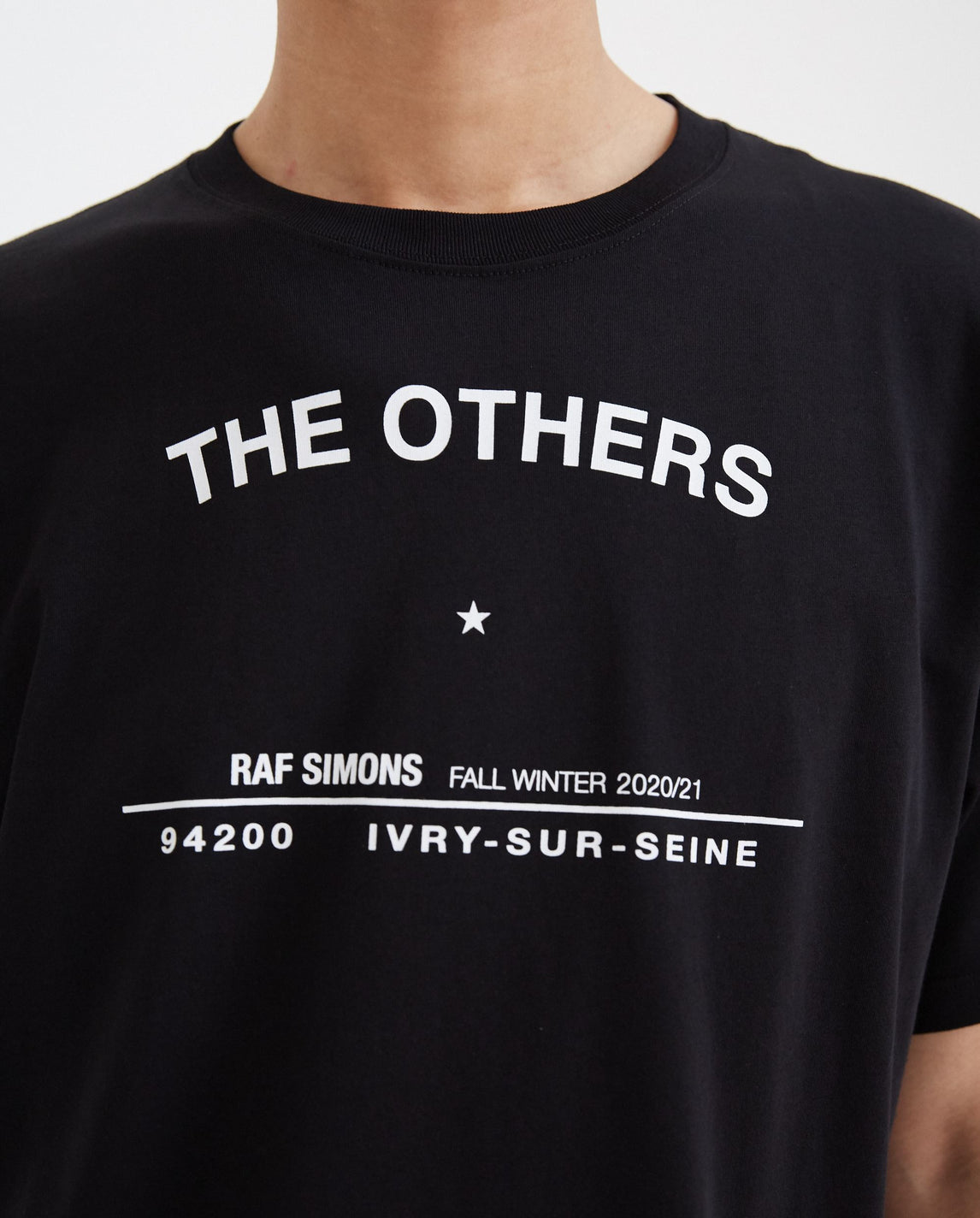 Tour T-Shirt - Black MENS RAF SIMONS