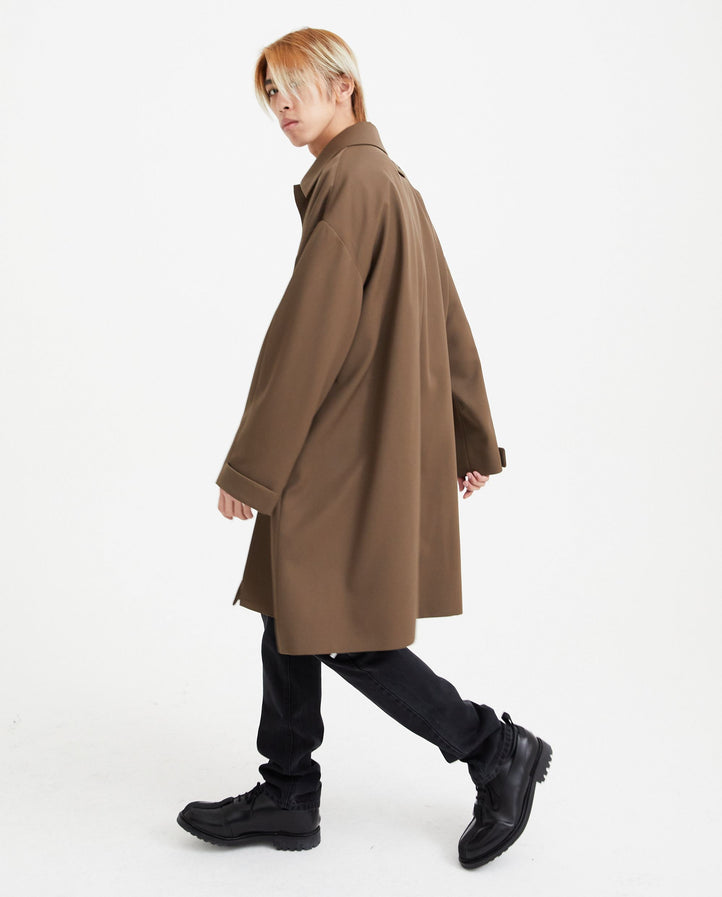 Trench Coat - Light Brown MENS FEAR OF GOD X ZEGNA