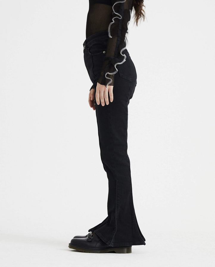 Trumpet Denim Pant - Washed Black WOMENS Y / PROJECT