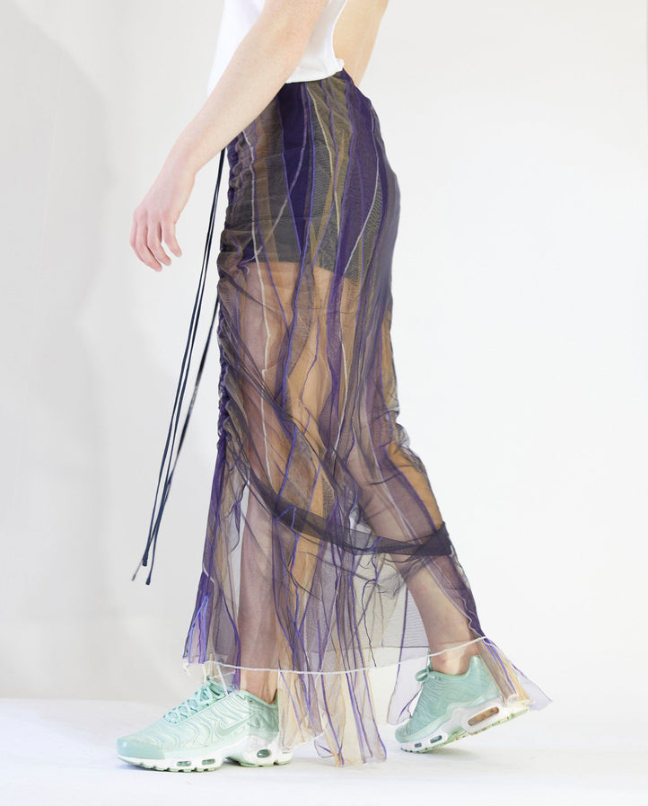 Tulle Drawstring Skirt - Multi WOMENS Y/PROJECT