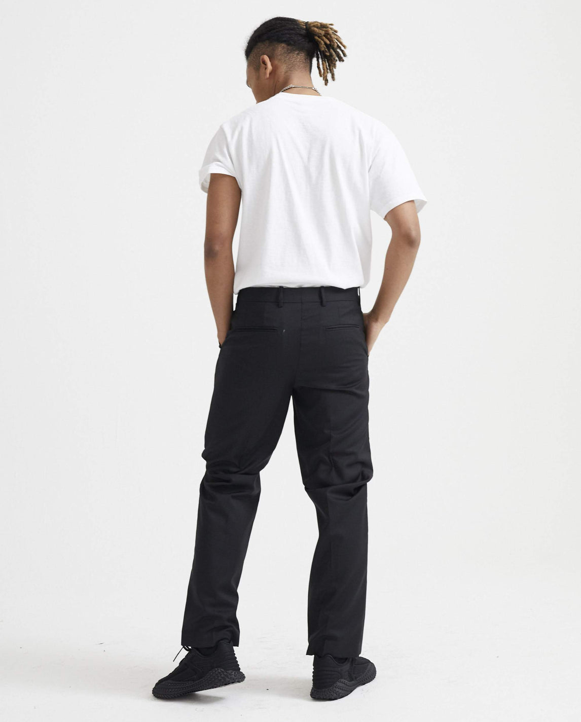 Tuuwa Trousers - Black MENS NAMACHEKO