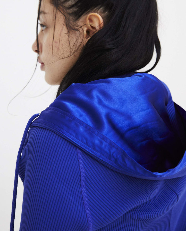 Twisted Hoodie - Blue WOMENS Y/PROJECT