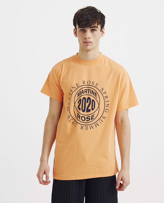 Two Way T-Shirt - Orange UNISEX MARTINE ROSE