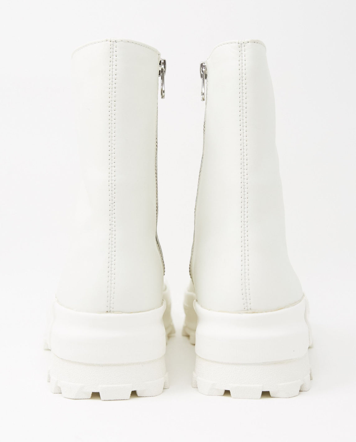 Ultra-Soft Houston Zip-Up Boot - White WOMENS CAMPERLAB