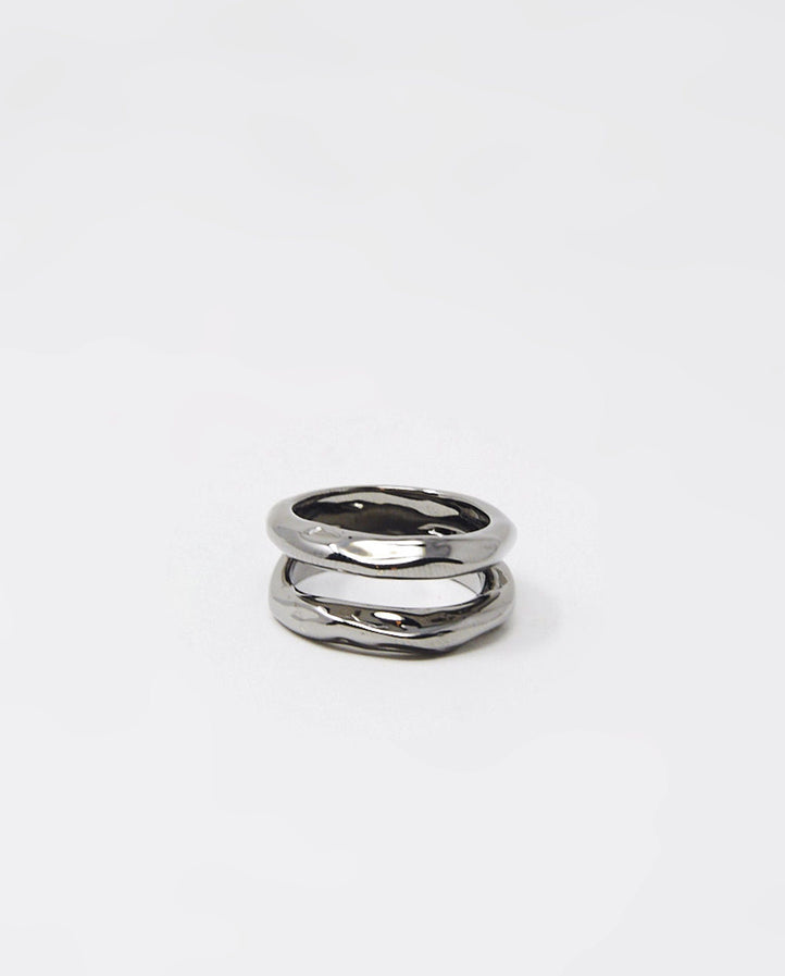 V Tushroom Ring - White Gold UNISEX PATCHARAVIPA