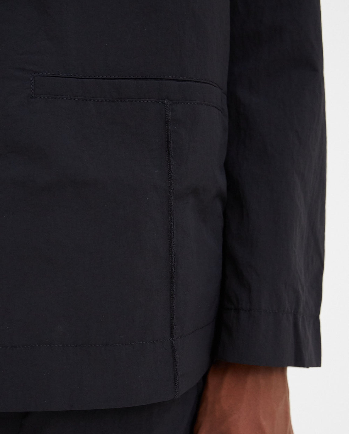 Woven Rhombus Badge Blazer - Black MENS A-COLD-WALL*