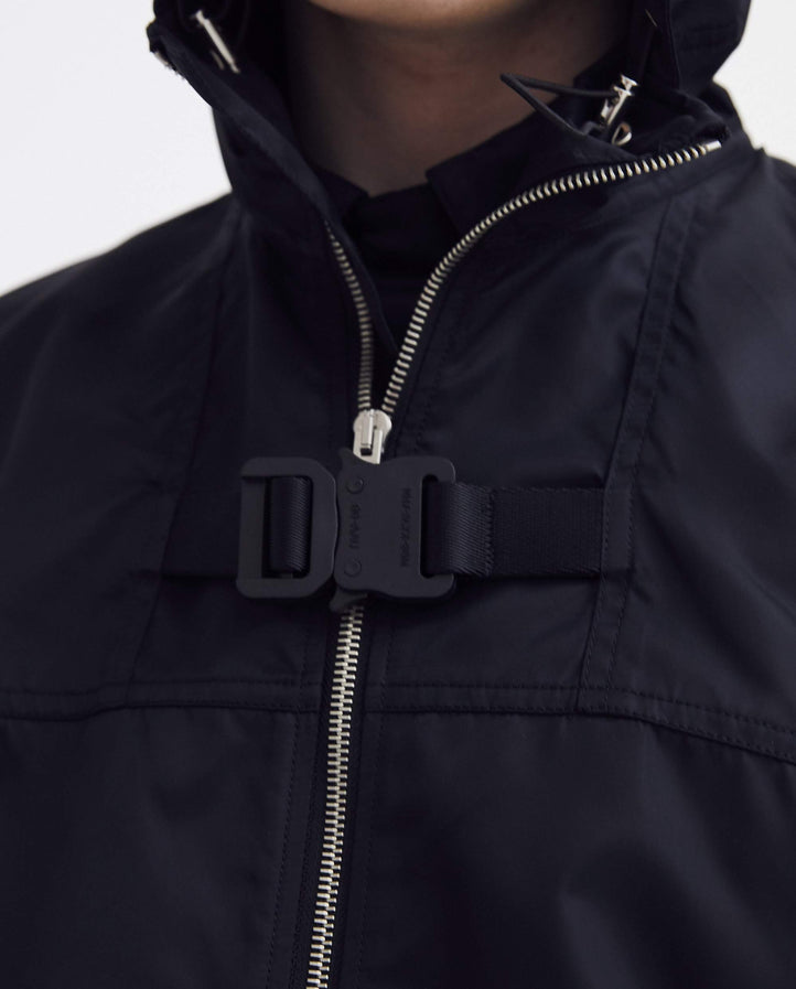 Zip-Up Windbreaker - Black UNISEX 1017 ALYX 9SM
