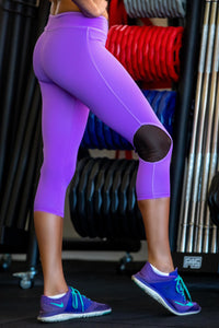 3/4  Leggings - Amethyst