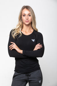 Athleisure Long Sleeve - Black