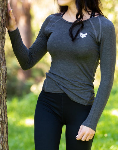 Athleisure Long Sleeve - Charcoal
