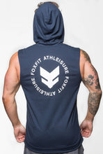 Load image into Gallery viewer, Ultra Light Weight Summer Sleeveless Hoodie - Navy