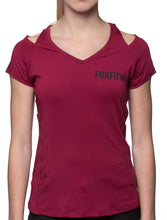 Load image into Gallery viewer, Active Tee - Maroon