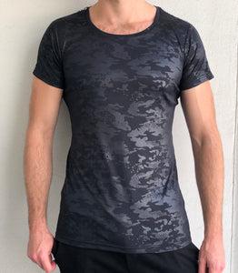Performance Tee - Black Camo
